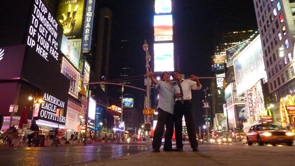 mes premières impressions à New York