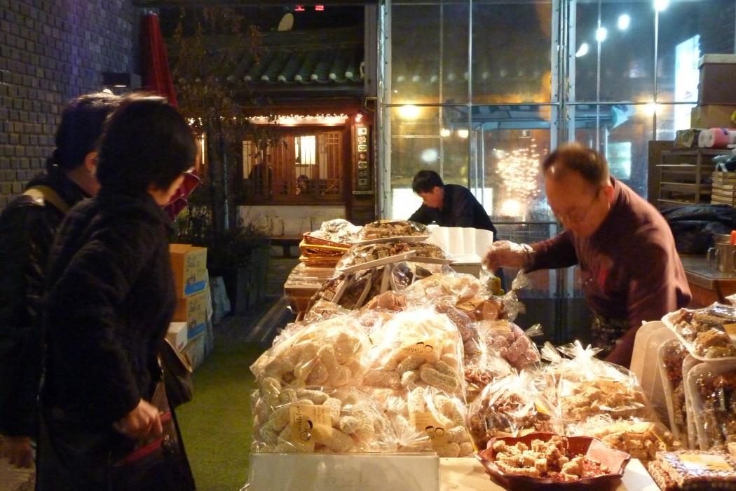 des gâteaux sucrés traditionnels...