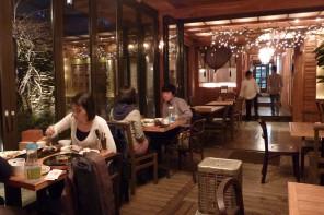Un restaurant romantique à Séoul