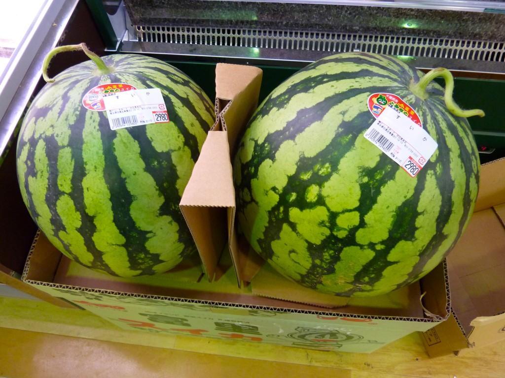 29€ la pastèque (au supermarché Don Quichotte)