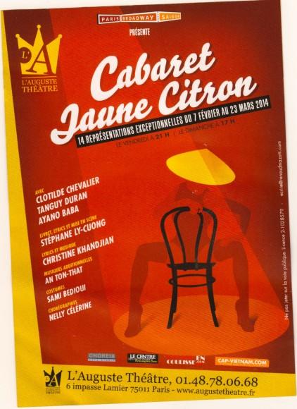 cabaret Jaune Citron 1-2