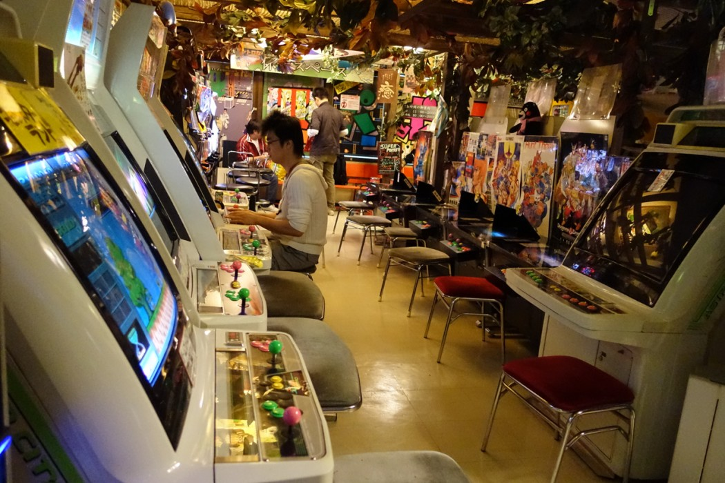 Retrogaming boutique