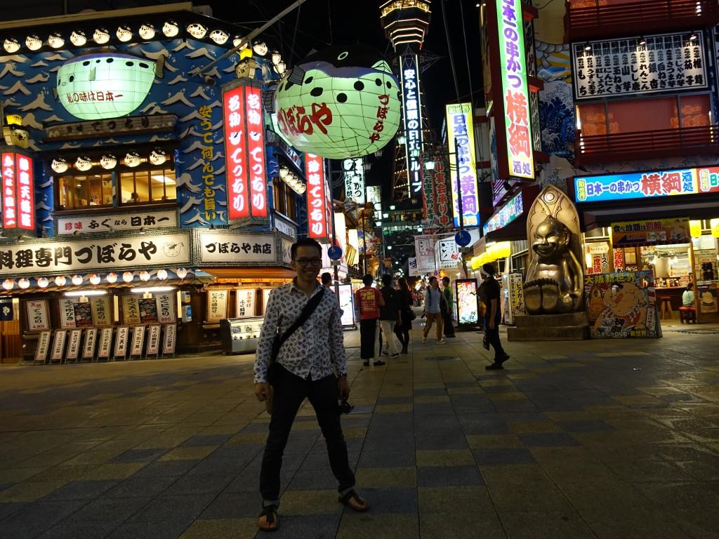 Balade dans le quartier Shin-sekai à Osaka