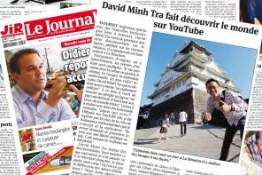 Les documentaires Voyage de David-Minh TRA dans le Journal de l'île de la Réunion !