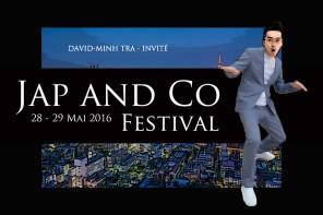 INVITÉ À LA 4ÈME ÉDITION DU FESTIVAL JAP AND CO 2016