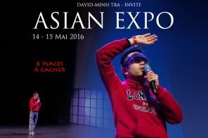 Invité à la 1ère édition du festival ASIAN EXPO 2016