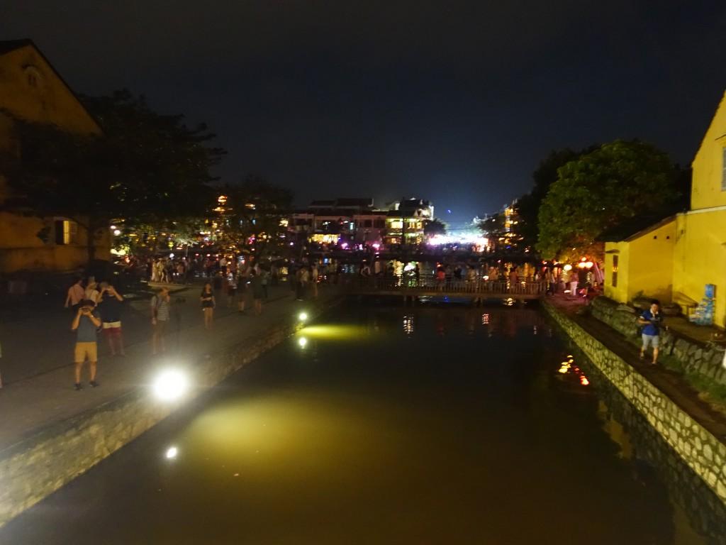 Hoi An vue du pont japonais