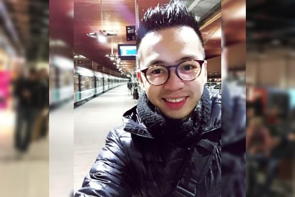 David-Minh-TRA au Vietnam de retour en France