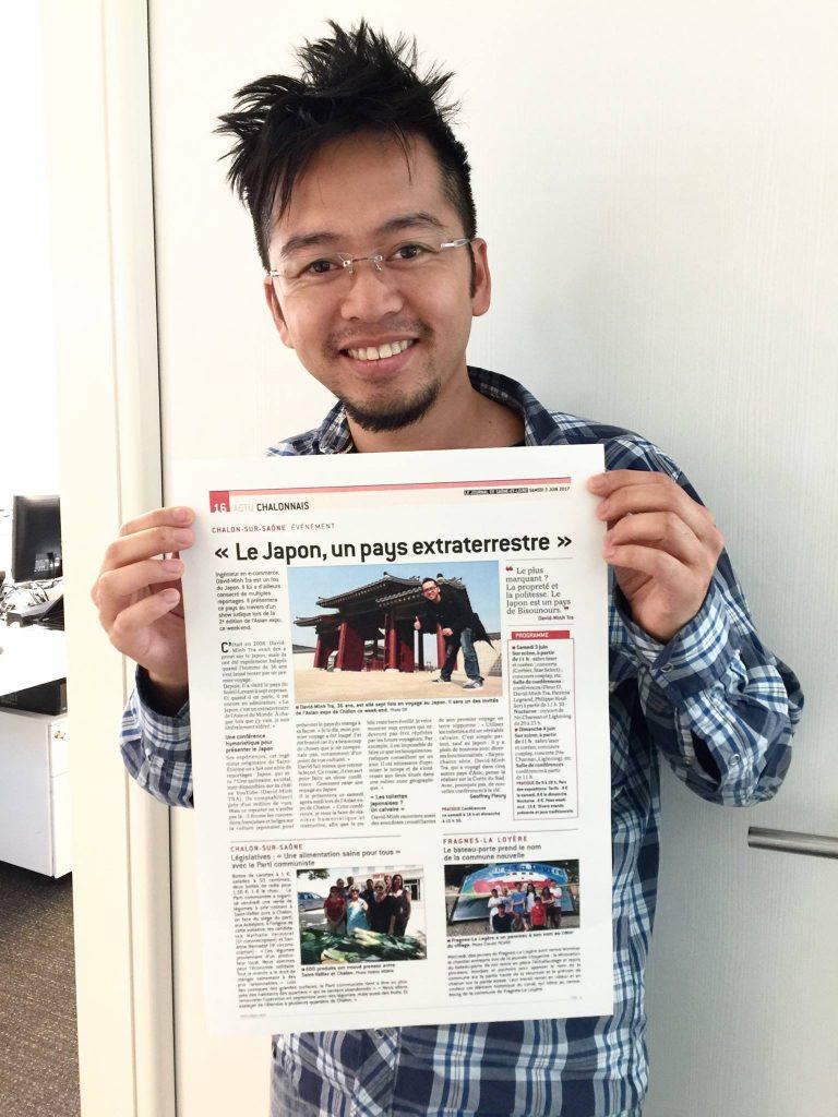 David-Minh TRA - Journal de Saone et Loire Juin 2017