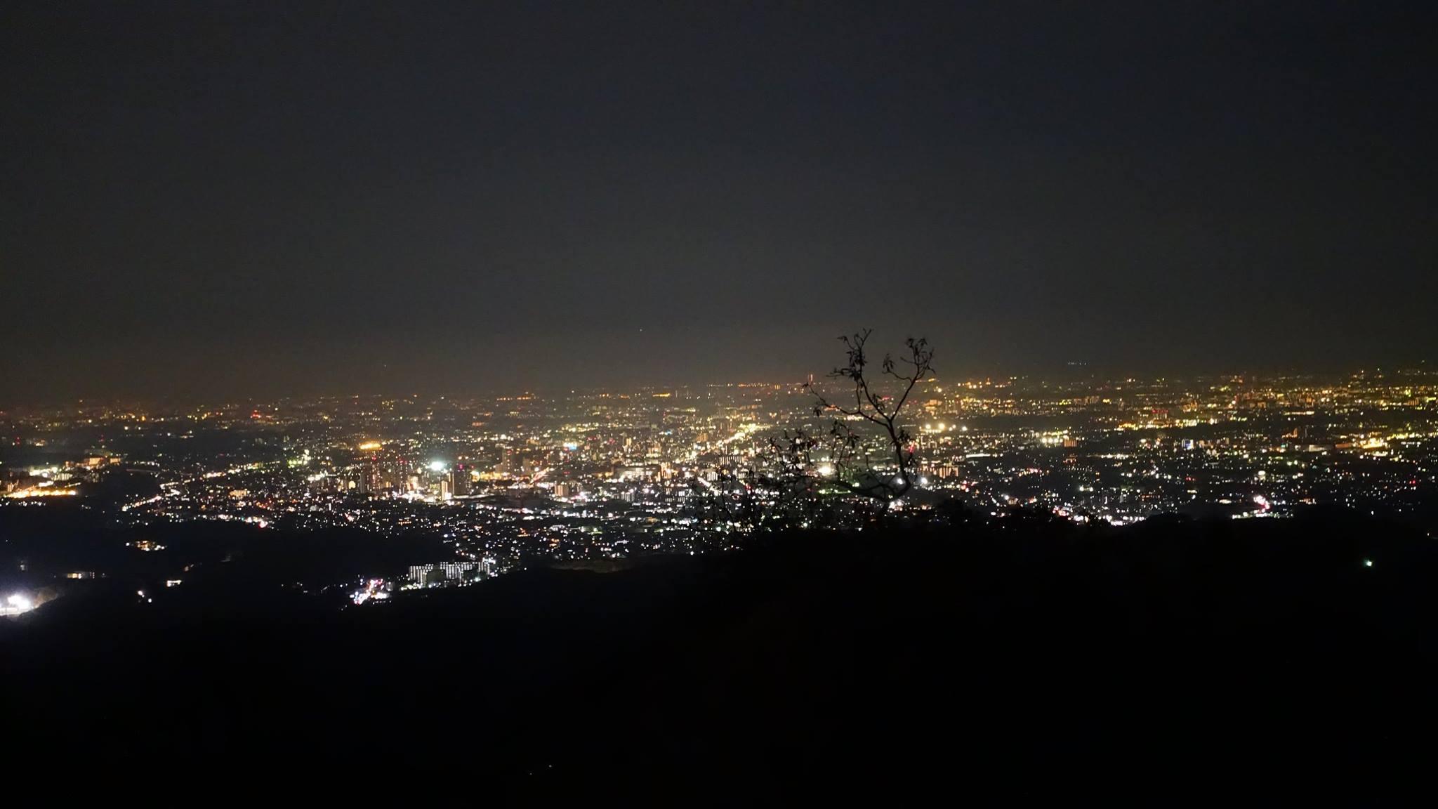 Tokyo vue du mont Takao