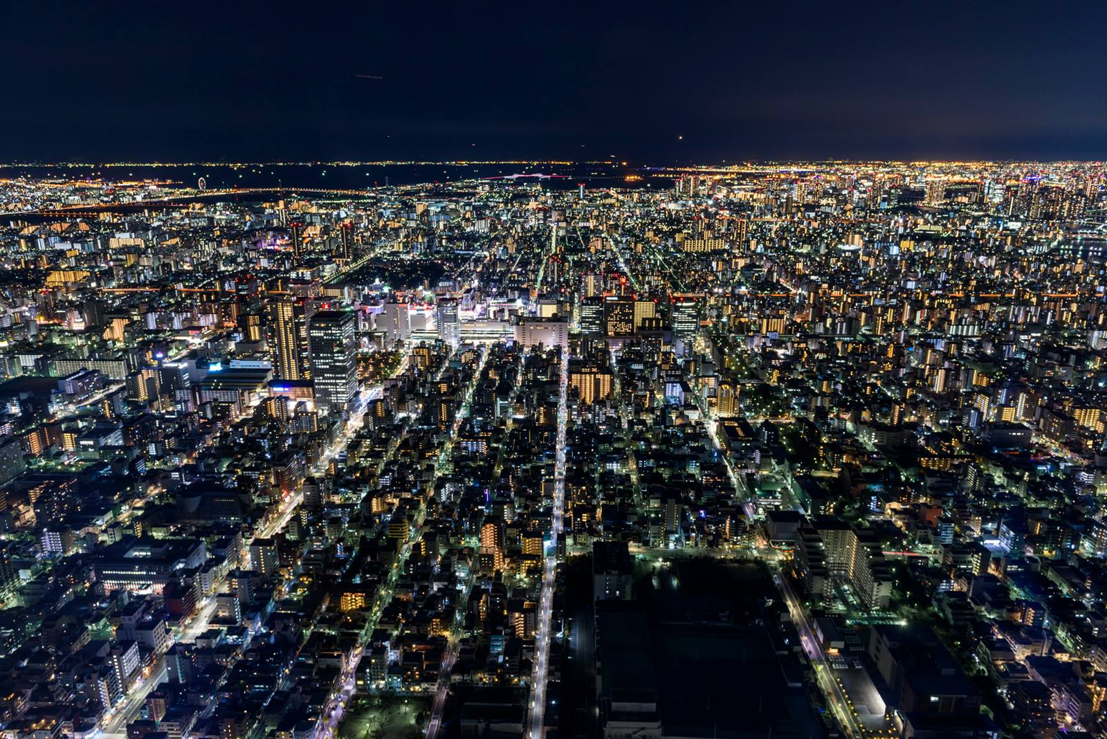 tokyo sky tree la nuit