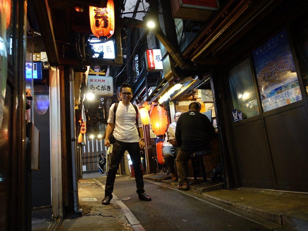 Shinjuku Tokyo David-Minh TRA Japon qui es-tu