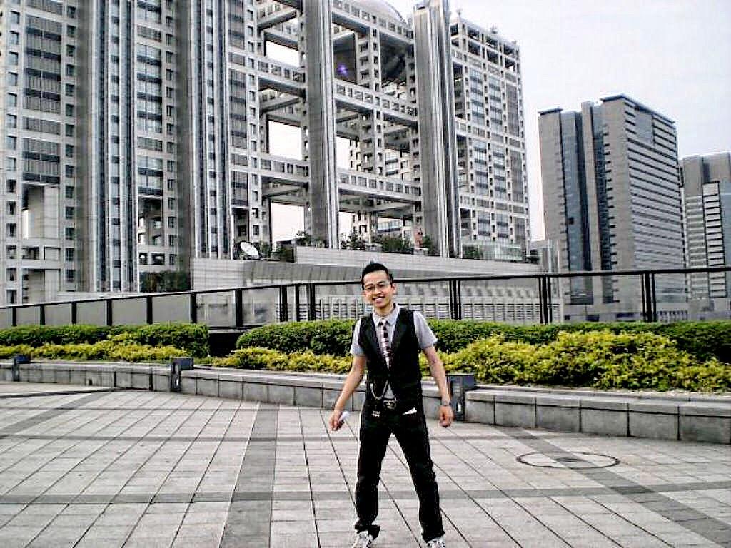 David-Minh TRA à Tokyo Odaiba