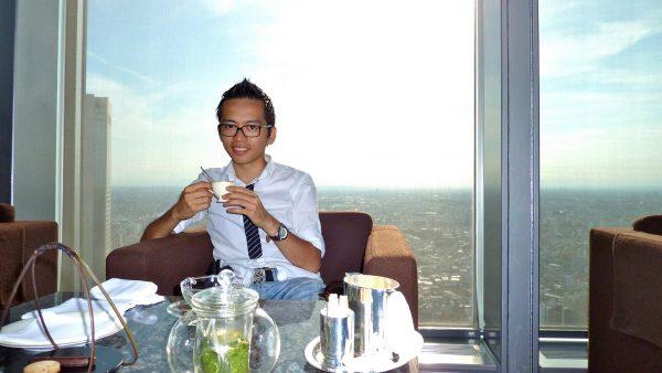 David-Minh TRA au Park Hyatt Tokyo