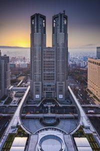 tokyo metropolitan government Les 2 tours - Observatoires du Siège du gouvernement métropolitain de Tokyo