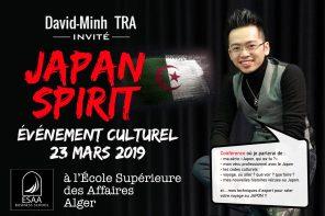Je vais donner ma première conférence culturelle sur le Japon en continent africain !