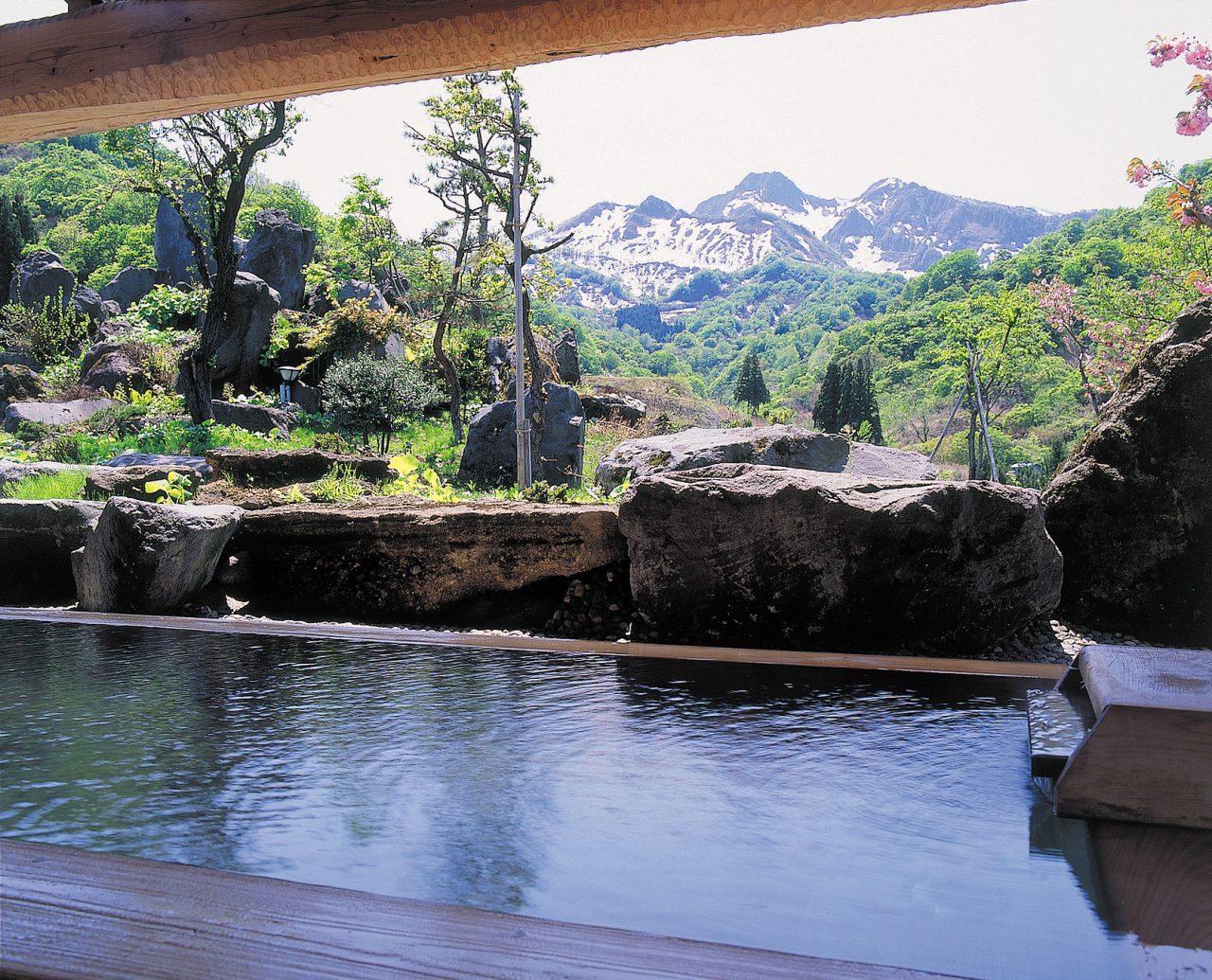 Yakeyama Onsen Hot Spring