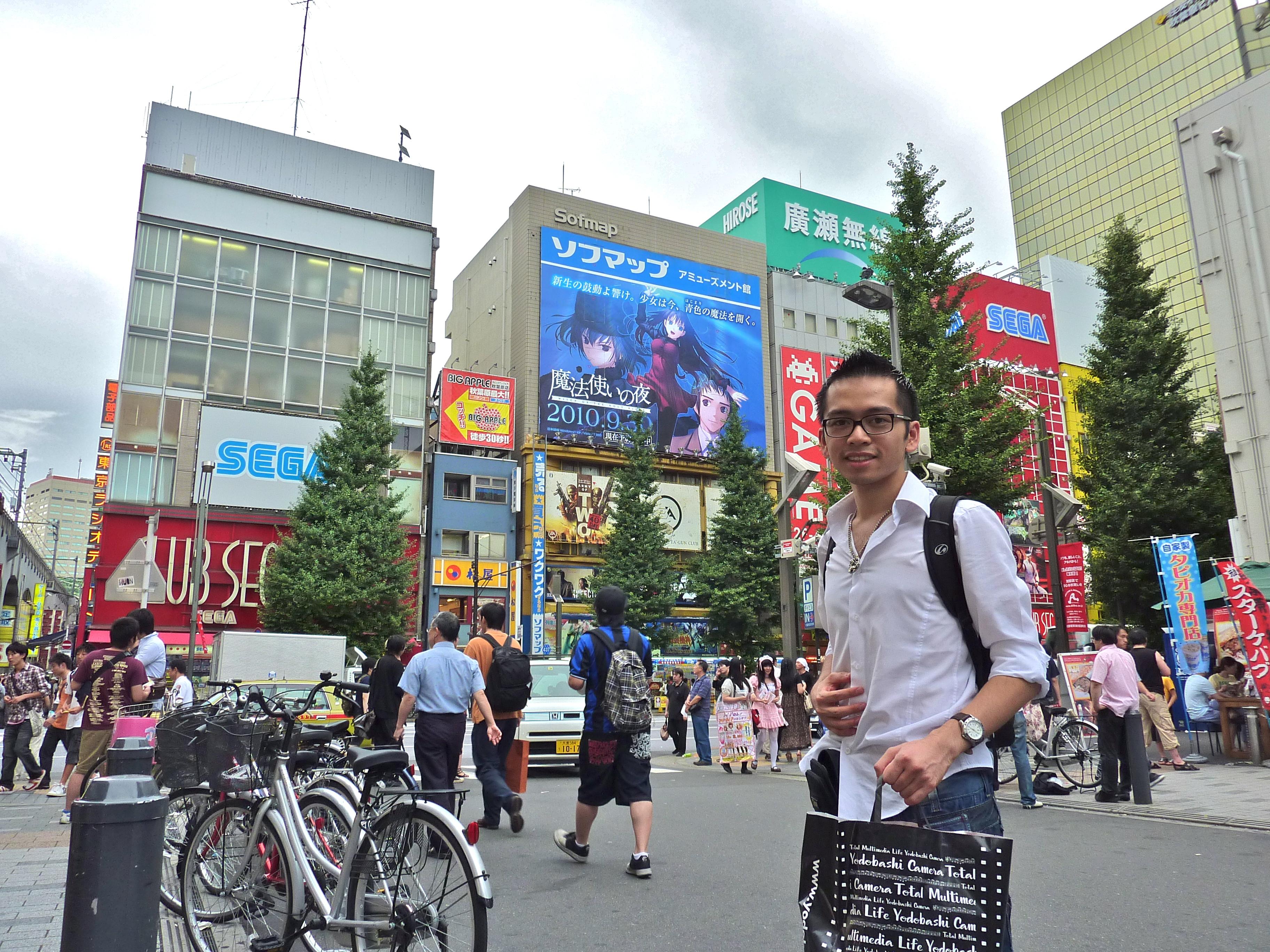 David-Minh TRA à Akihabara