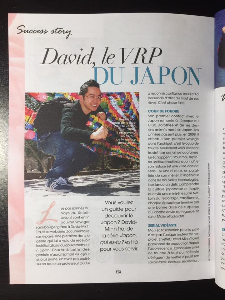AS YOU LIKE Magazine avec David-Minh TRA - serie documentaire Japon qui es-tu_p3