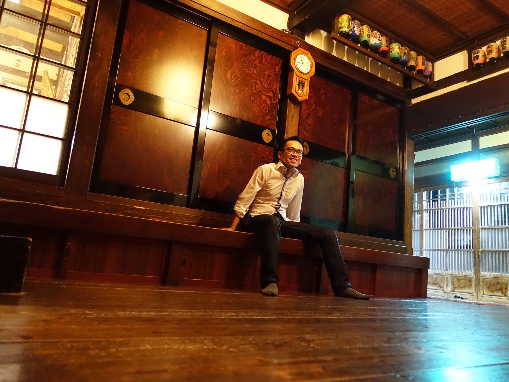 David-Minh TRA dans maison de pecheurs Wajima